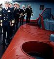 Officers meet aboard cruiser Slava next to SA-N-6 launcher crop.jpg