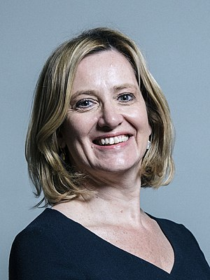 Great Offices of State - Image: Official portrait of Amber Rudd crop 2