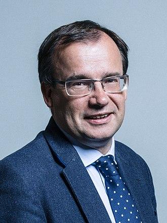 Gareth Thomas (English politician) - Image: Official portrait of Gareth Thomas crop 2