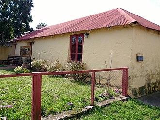 Conchillas - Image: Oficinas de Montes del Plata, Conchillas