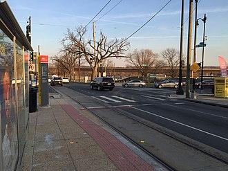 Oklahoma Avenue (DC Streetcar station) - Image: Oklahoma Ave DC Streetcar 2016
