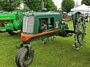 Row crop - A row crop tractor