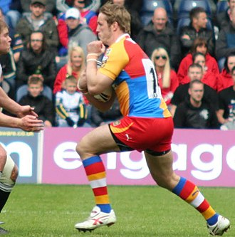 Oliver Wilkes - Wilkes in action for Harlequins Rugby League