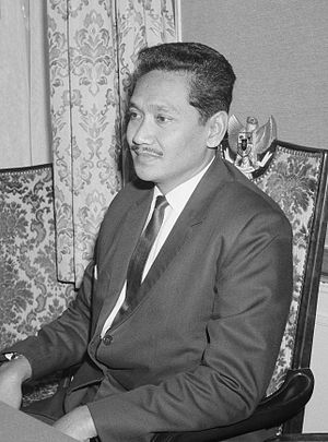 Omar Dani - Omar Dani in the Netherlands in 1965
