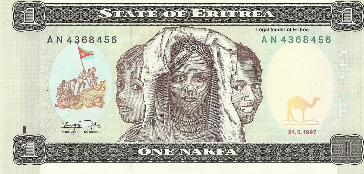 Eritrean Nakfa Wikipedia