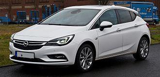 C-segment - 2015-present Opel Astra