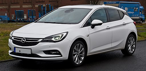 Opel Astra 1.6 CDTI ecoFLEX Dynamic (K) – Frontansicht, 23. Dezember 2016, Düsseldorf