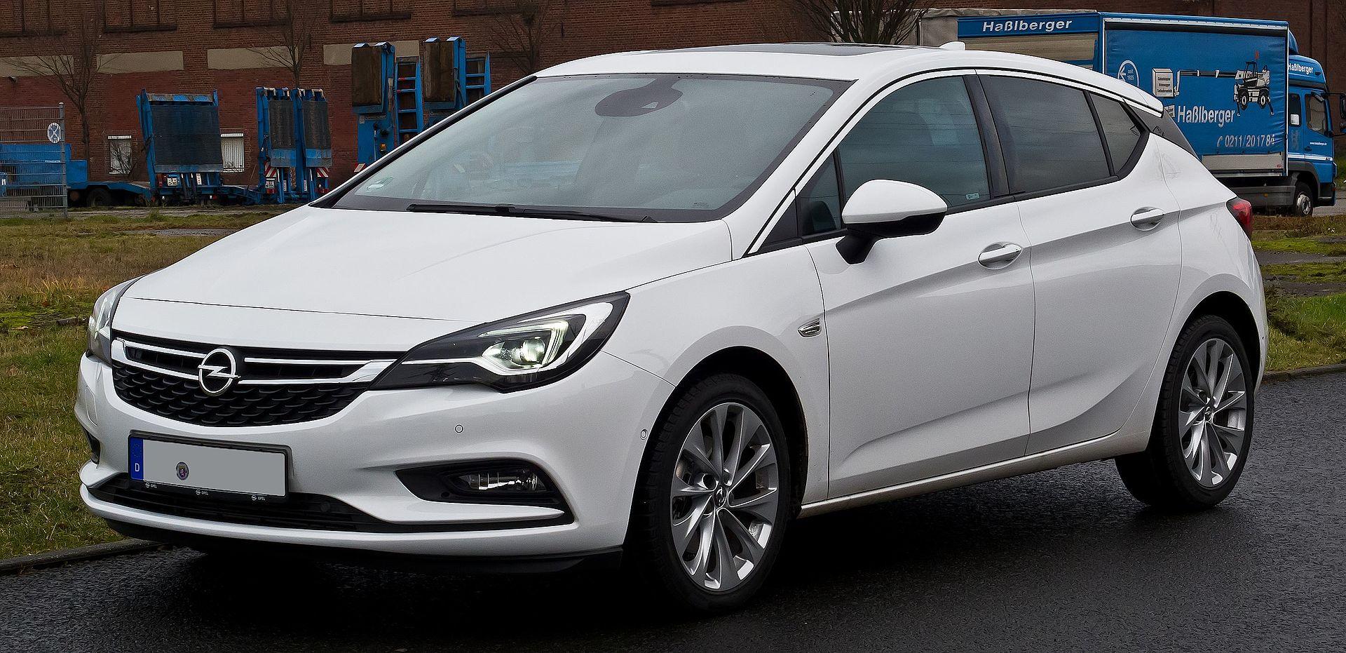 Opel Astra K Wikipedia