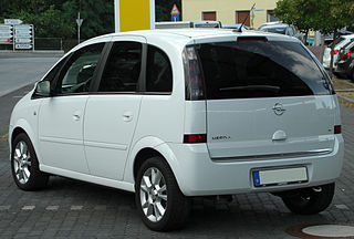 file opel meriva a 1 8 cosmo facelift rear wikimedia commons. Black Bedroom Furniture Sets. Home Design Ideas