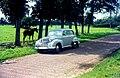 Opel Olympia model 1951, Dwingeloo, Nederland.jpg