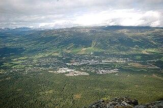 Oppdal Municipality in Trøndelag, Norway