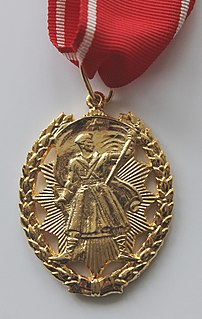 Order of the Peoples Hero order