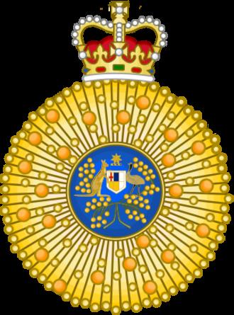Order of Australia - Image: Order of Australia
