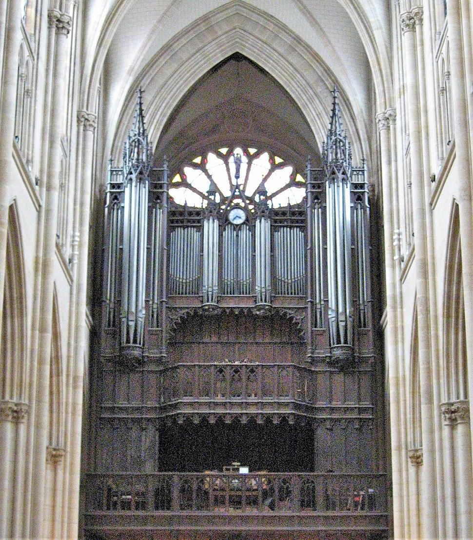 Organ of Sainte-Clotilde Paris