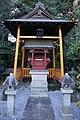 Orihime-jinja in Nagara-jinja (Daikan, Tatebayashi) shaden.jpg