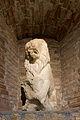 Ornement de fontaine représentant un lion assis - Musée romain d'Avenches.jpg