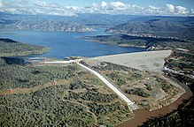 Map Of California Oroville Dam.Oroville Dam Wikipedia