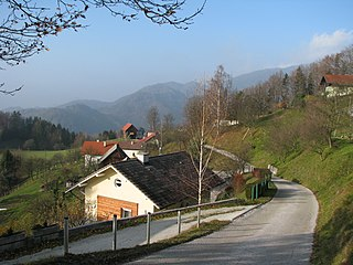 Ostenk Place in Styria, Slovenia