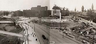 Confederation Square - April 28, 1939