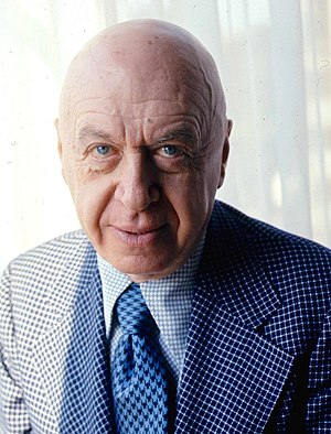 Otto Preminger - Preminger in 1976, by Allan Warren