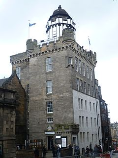 Camera Obscura, Edinburgh Museum in the United Kingdom