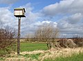 Owl box on Ellerker Sands - geograph.org.uk - 721704.jpg