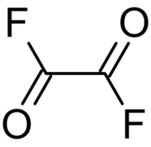 The structure of Oxalyl_fluoride