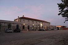 La stazione di Ozieri-Chilivani, situata nella frazione di Chilivani