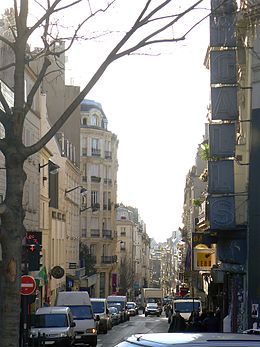 Image illustrative de l'article Rue Jean-Baptiste-Pigalle