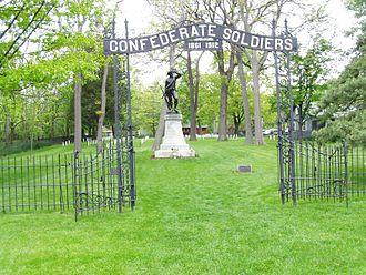 Johnson's Island - Image: P5240017 Johnsons Island Conf Cemetery