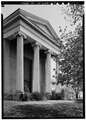 PERSPECTIVE VIEW OF SOUTH ELEVATION - Dutch Reformed Church, 132 Grand Street, Newburgh, Orange County, NY HABS NY,36-NEWB,12-7.tif