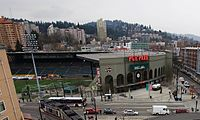 PGE Park in 2008, from elevated position.jpg