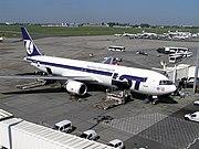 PLL LOT Boeing 767-300ER Poznan 2