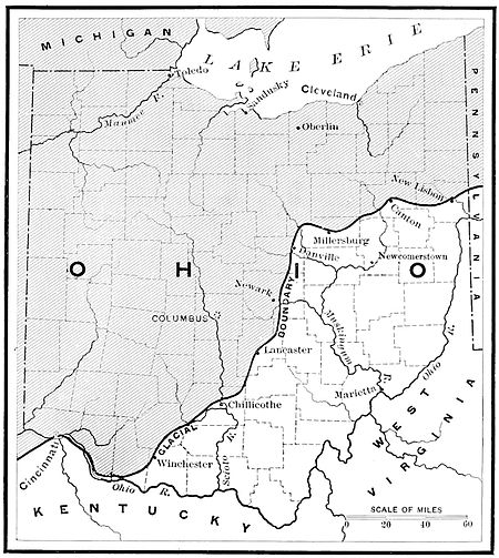 PSM V39 D329 Ohio map of paleolithic tools find.jpg