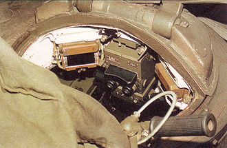 PT-91 Twardy - POD-72 commanders sight