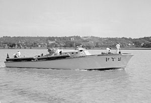 British Power Boat Company - PT-9 at Washington D.C., 1940.