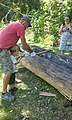 PW - Dugout Canoe Construction (27057418854).jpg