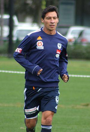 Pablo Contreras - Contreras with Melbourne Victory in 2013