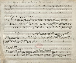 Image illustrative de l'article Canon de Pachelbel
