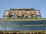 Retired numbers at Lambeau Field