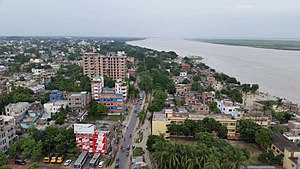 Rajshahi - The Padma river passes by southern side of the city