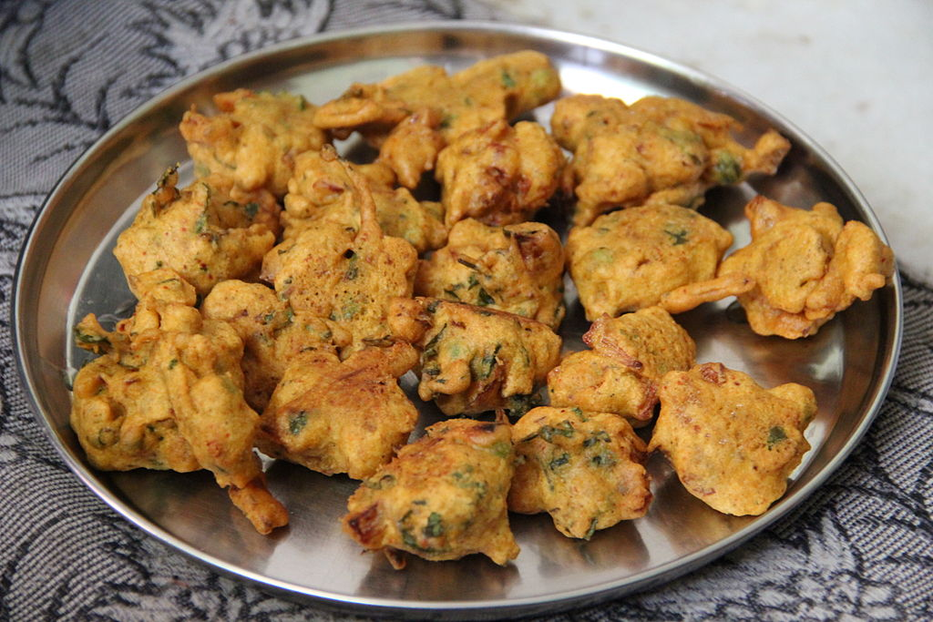vegan food in india Pakora in India