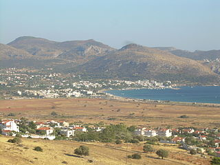 Palaia Fokaia Place in Greece