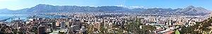 Palermo panorama monte pellegrino