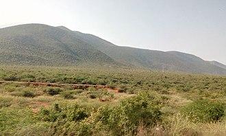 Kadapa - Palkonda Hills near Kadapa