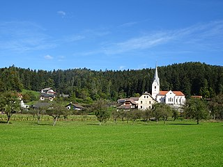 Pameče Place in Styria, Slovenia