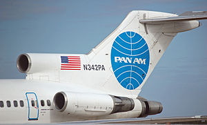 Pan Am Systems - Tail section of Clipper Guilford.