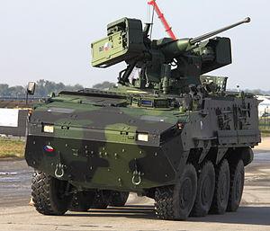 Trenck's Pandurs - Pandur II infantry fighting vehicle