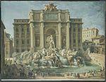 Pannini, Giovanni Paolo - Fountain of Trevi, Rome - 18th c.jpg