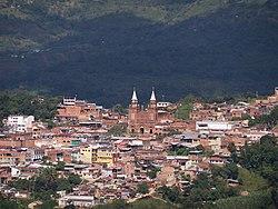 Panorámica Municipio de Arbeláez.jpg
